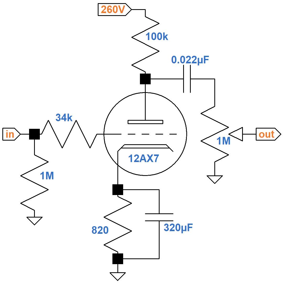 Marshall Jmp50 Model Plexi Circuitysis