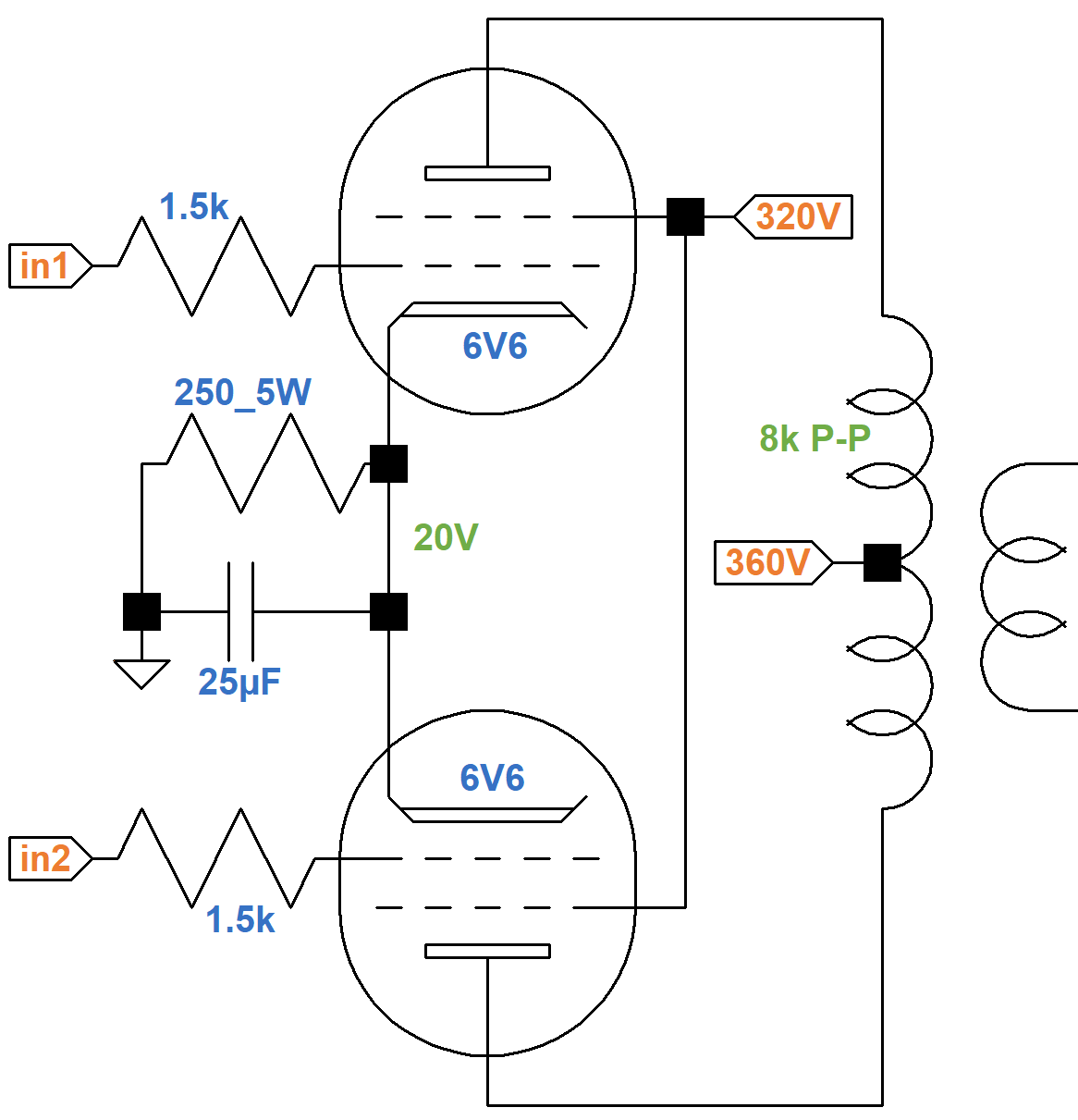 Fender Deluxe 5E3 Circuit Analysis