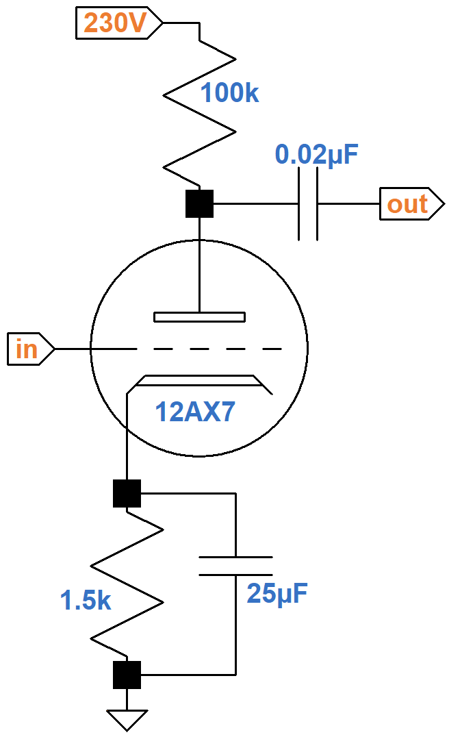 Fender Deluxe 5E3 Circuit Analysis