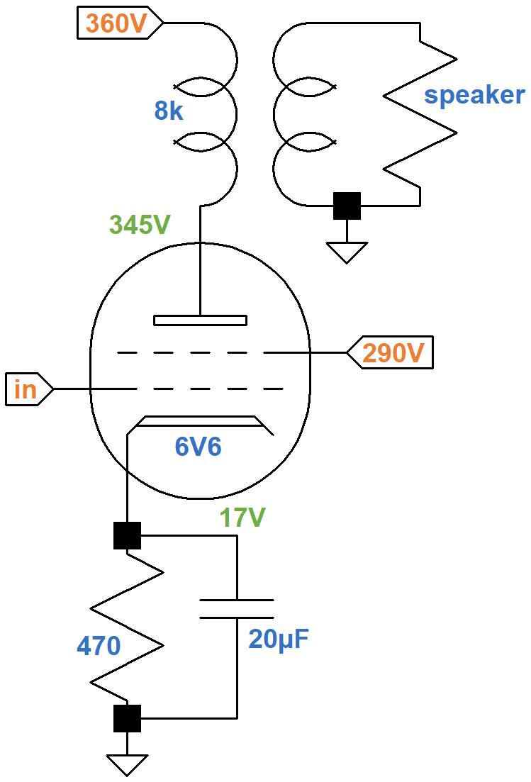 medium resolution of gibson ga 5 power amp schematic