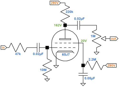 small resolution of gibson ga 5 les paul junior preamp schematic