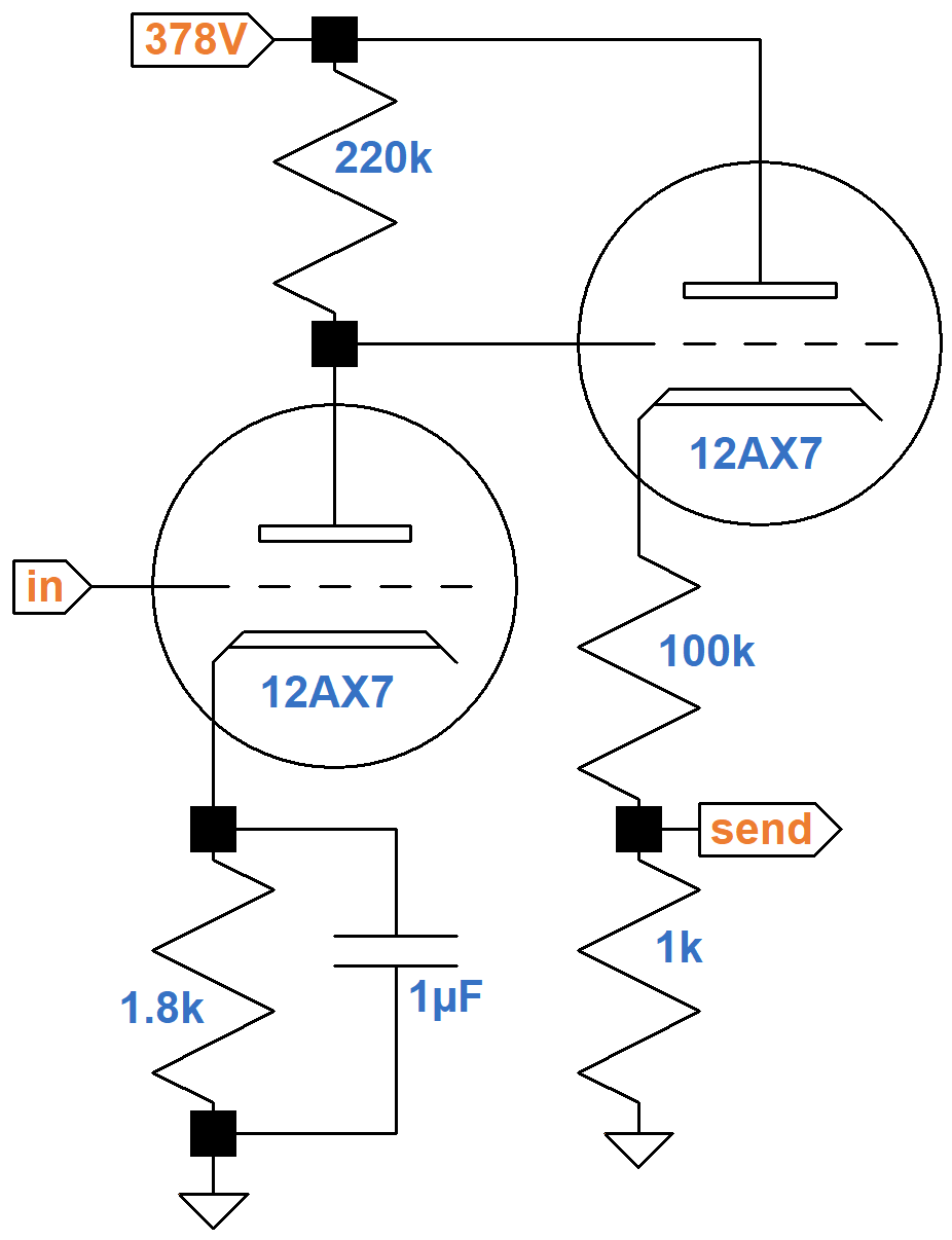 Soldano Super Lead Overdrive Channel Circuit Analysis