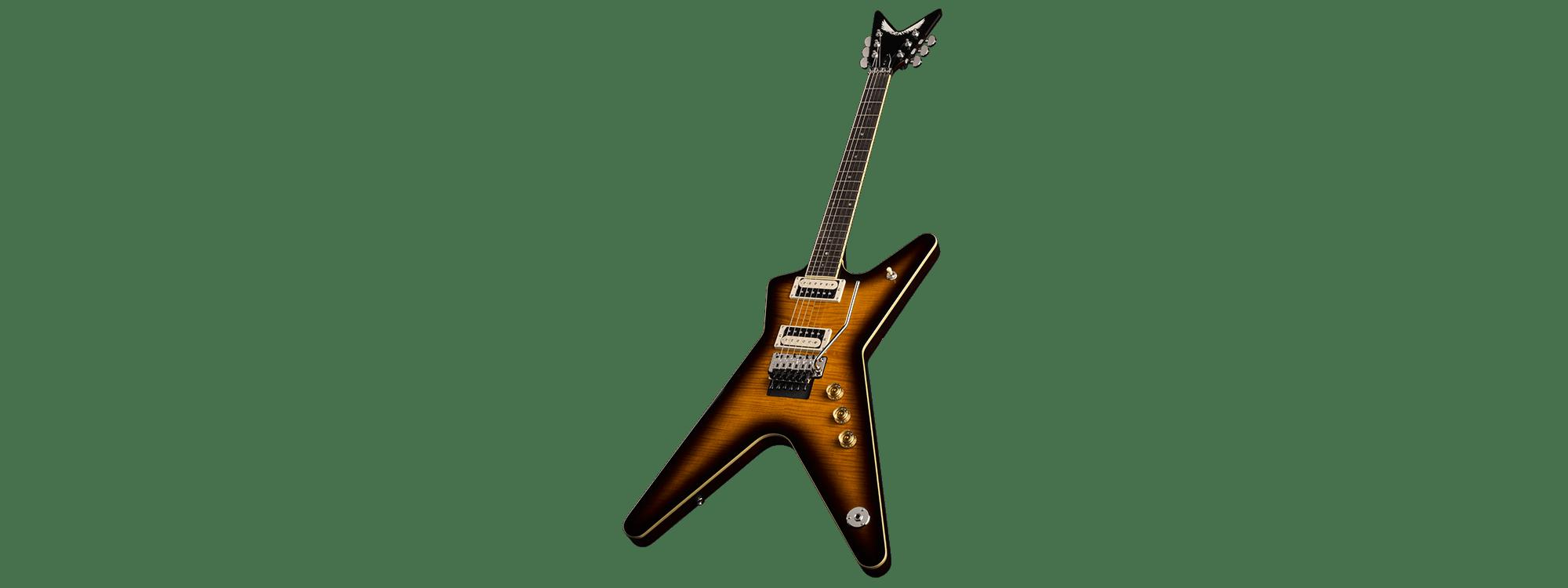 Dean ML 79F TBZ Trans Brazilla With Floyd Electric Guitar