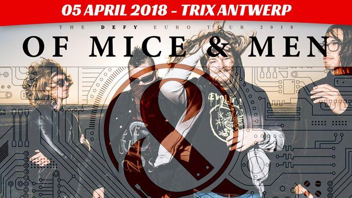 Of Mice & Men + Wage War + Sylar / Trix, Antwerpen / 05-04-2018
