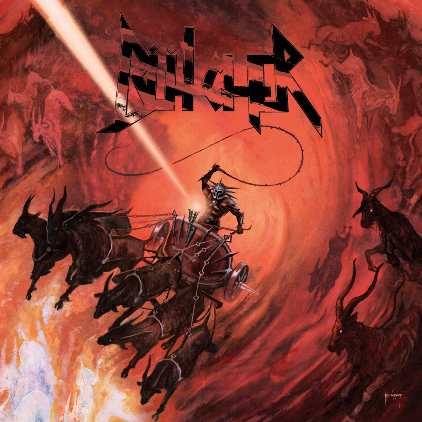 Bütcher - 666 Goats Carry My Chariot albumcover 2020