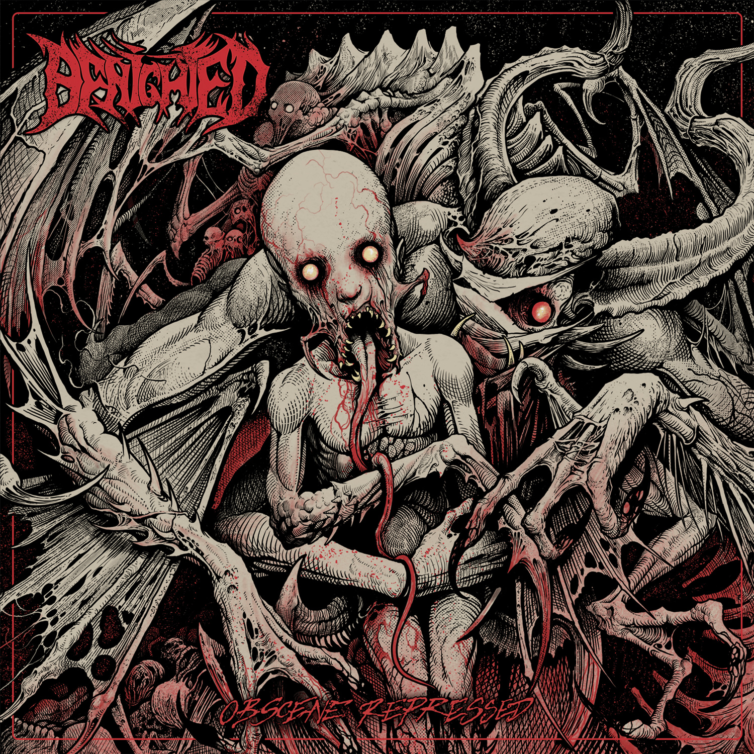 Benighted - Obscene Repressed coverart 2020