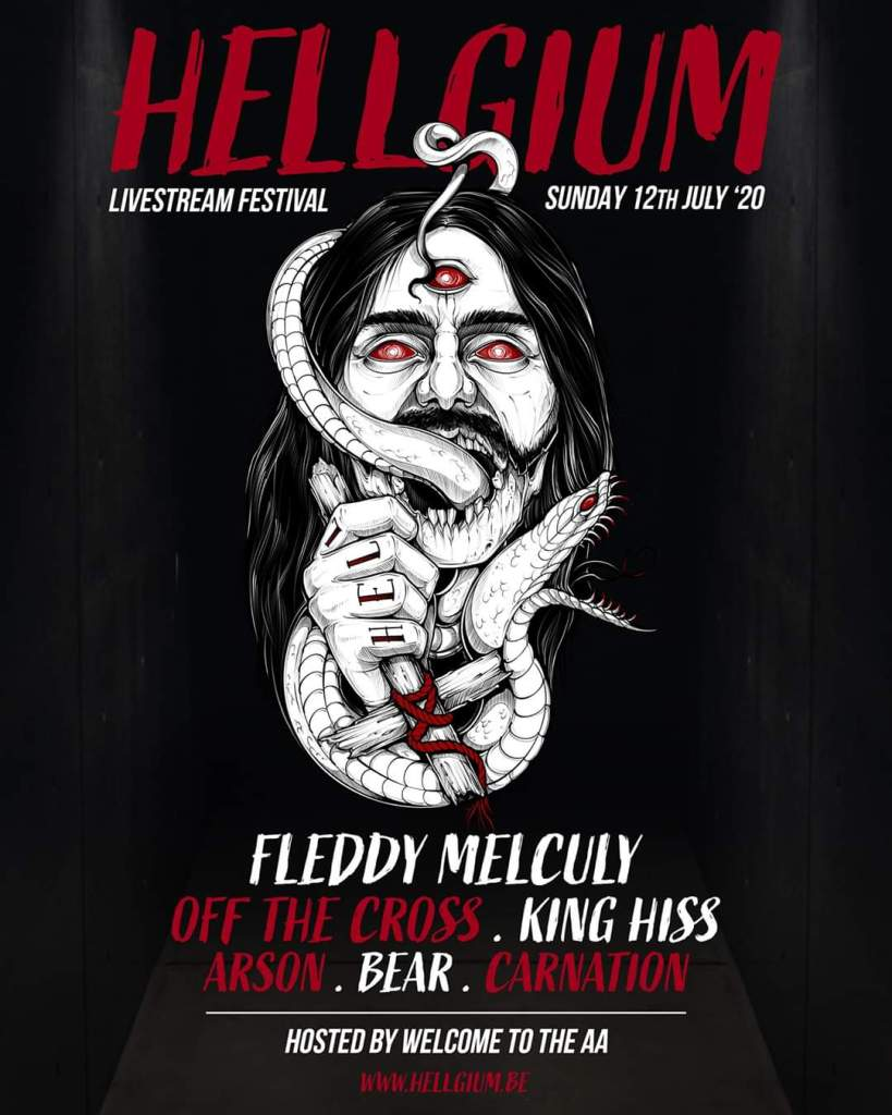 Hellgium line-up 12-07-2020