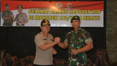 Kapolda NTB yang baru Inspektur Jenderal Polisi Drs. Tomsi Tohir Balaw, M.Si.