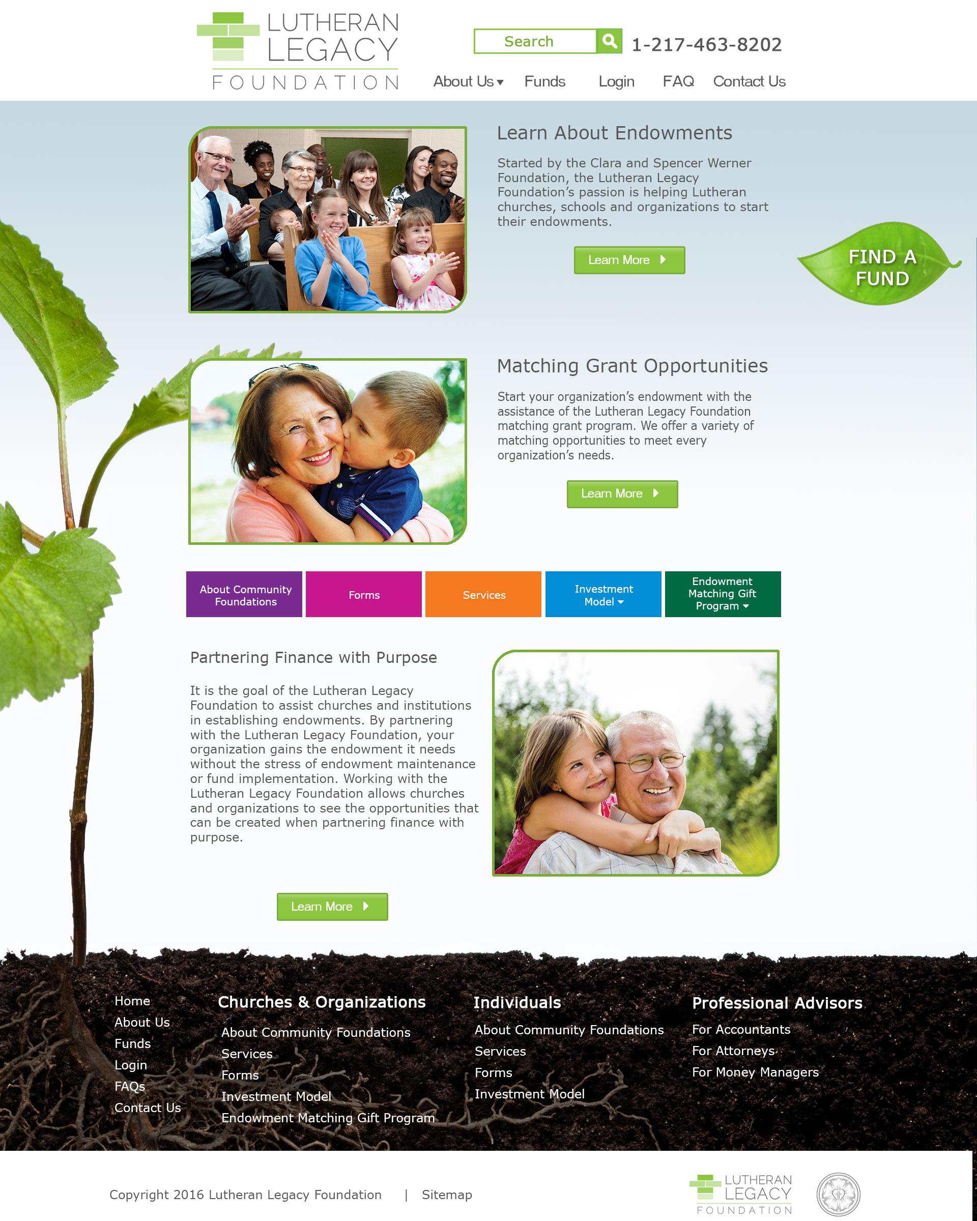 Lutheran Legacy Foundation Organizations Page