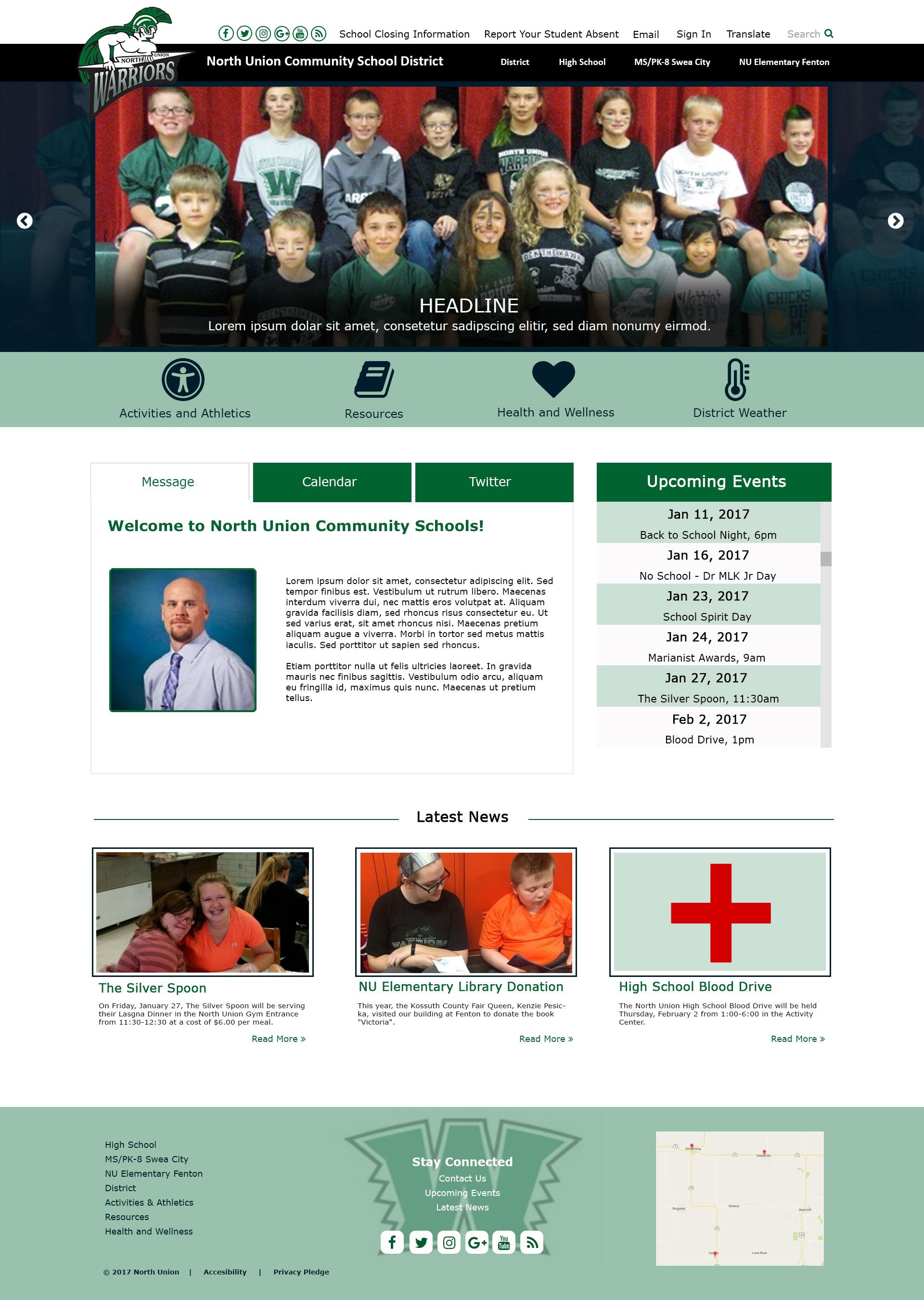 Design #2 - Homepage