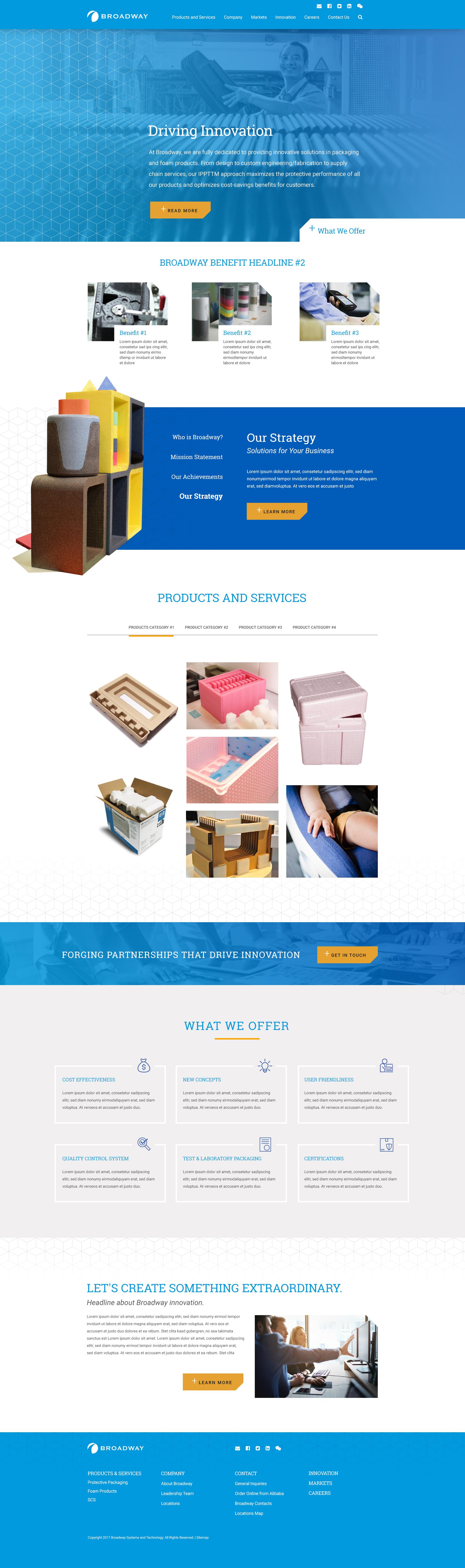Homepage Design #1