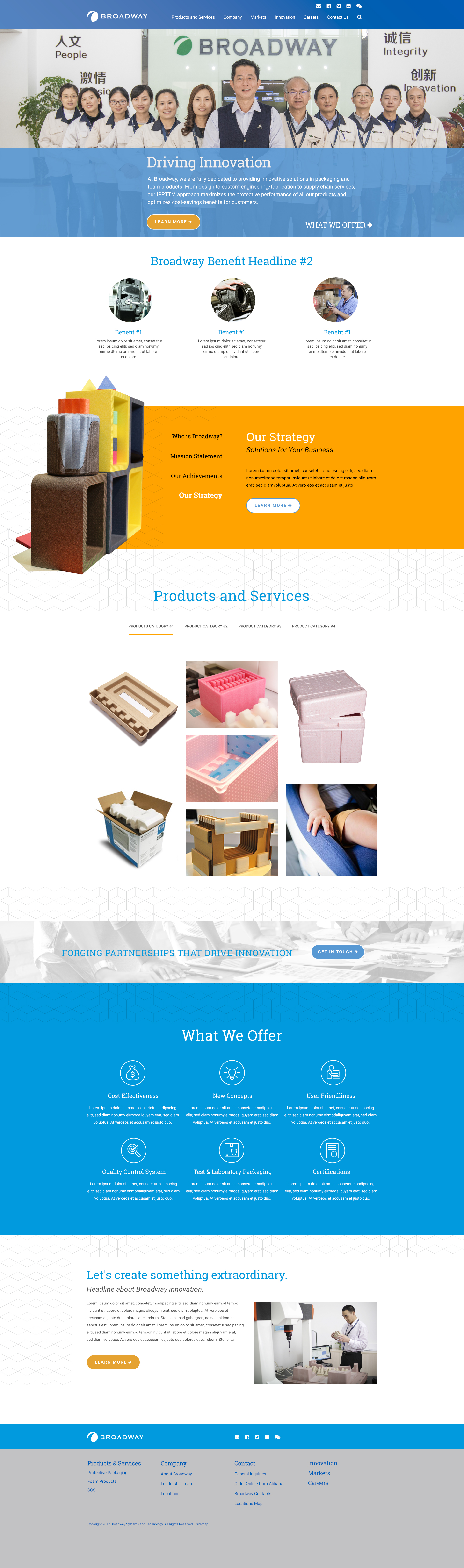 Homepage Design #2