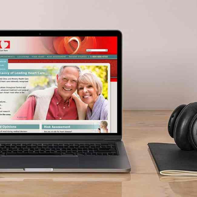 """Marshfield Clinic and Ministry Health Care Heart Care Team """"Certainty"""" Marketing Campaign"""