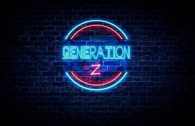Generation Z sign