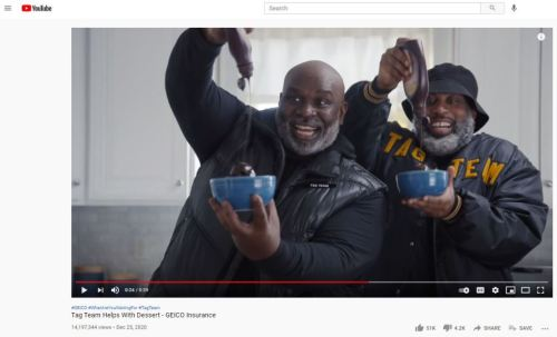 GEICO Tag Team Commercial on YouTube