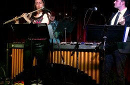 Members of the Helix Collective perform at the Silverlake Lounge