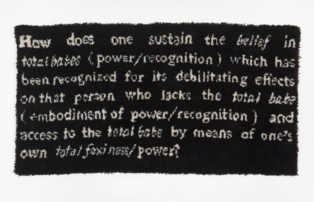 How does one sustain... - Frances Stark 1991