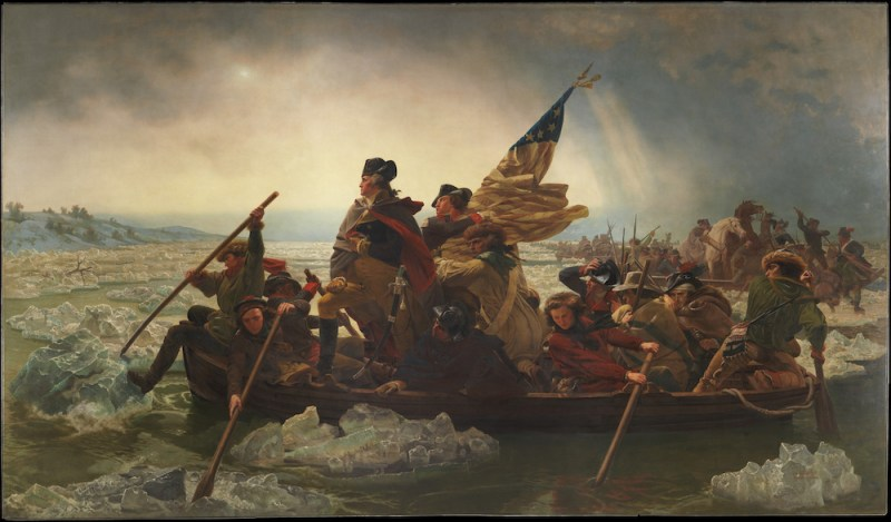Emanuel Gottlieb Leutze, Washington Crossing the Delaware, 1851