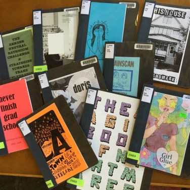 Selections from the UCLA Zine Collection.