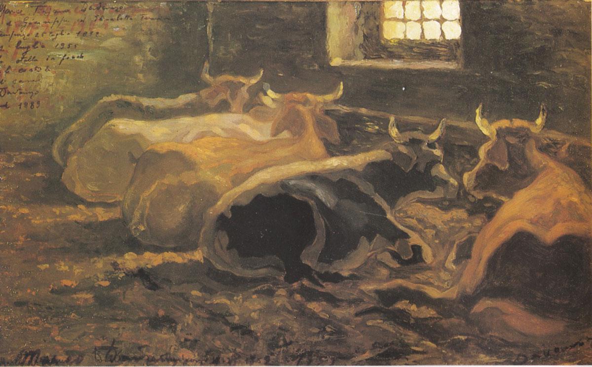 Quadro di Davanzo, La stalla
