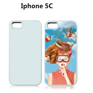 Iphone 5C Carcasa 2D Sublimacion TPU Silicona