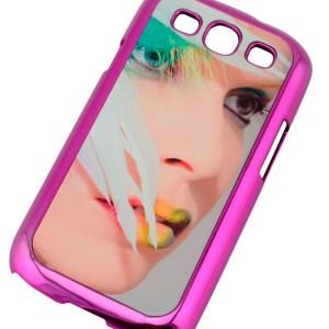 Samsung S3 Carcasa Metalizada Colores Sublimacion 2D