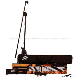 Peavey PV MSP1 XLR MICROFONO-ATRIL-CABLE Y ESTUCHE