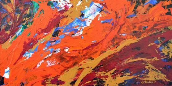 Fire and Ice_Skiba-Poniatowski_Acrylic_24x12_$495