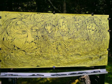 mural acadia ntl park