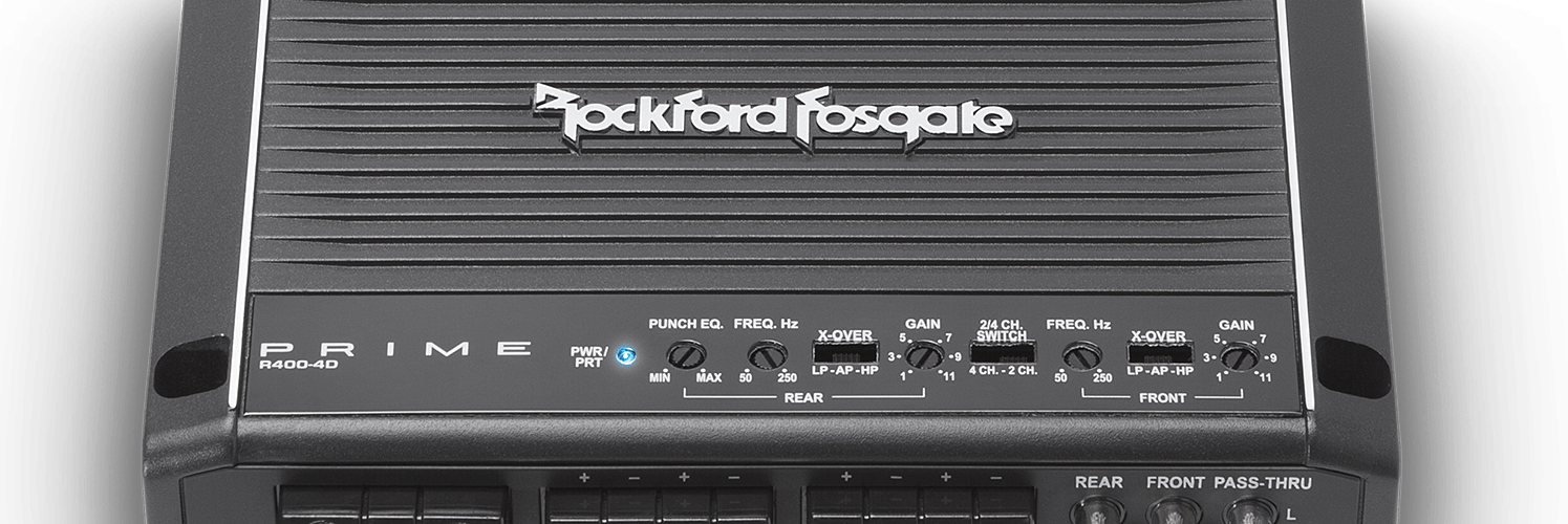 Rockford Fosgate R400-4D 4 channel car amplifier