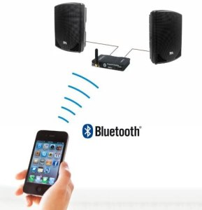 Amphony Bluetooth Audio Receiver/Amplifier