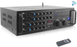 Pyle PMXAKB2000 DJ Karaoke Mixer and Amplifier