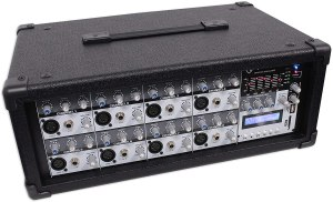 Rockville PRM85 2400w Powered 8 Channel Mixer