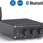 Fosi Audio BT20A Bluetooth 5.0 Stereo Audio Amplifier Receiver