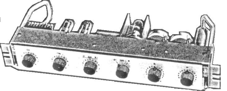 Amplifiers with valves
