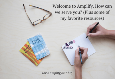 welcome to amplify