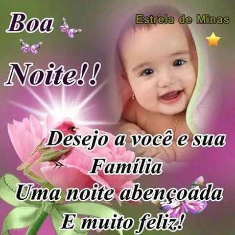 Imagem De Boa Noite Feliz Com O Bebê Imagens Legais