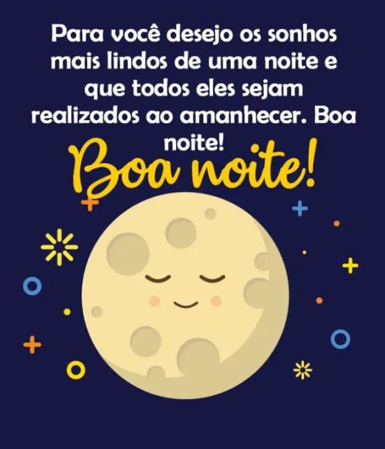 Boa noite bons sonhos
