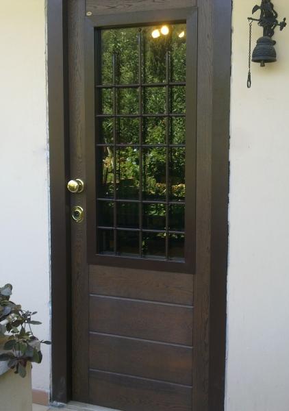 Porte Blindate su Misura con Vetro Roma Ciampino
