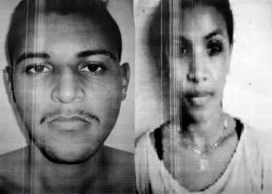 Abraão Moraes da Silva, 23, e Aline da Silva, 21 (foto: revelación)