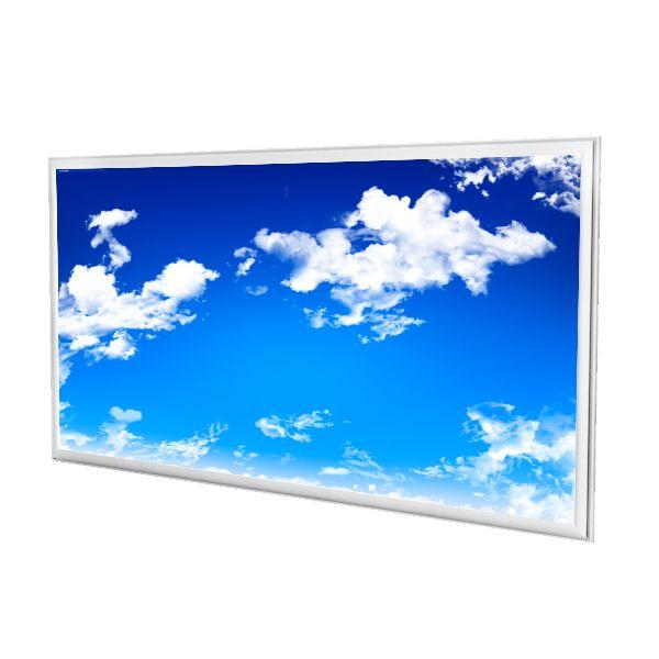panneau led personnalise dreamlight ciel bleu 60x120cm 72w 6500k ariane