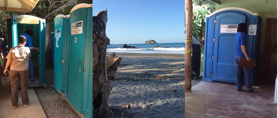 Playa de Parque Nacional Manuel Antonio está infectada de caca