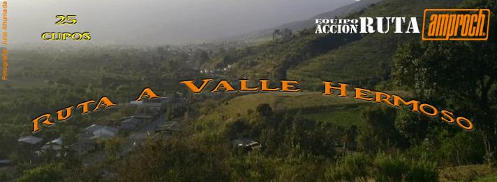 Ruta a Valle Hermoso