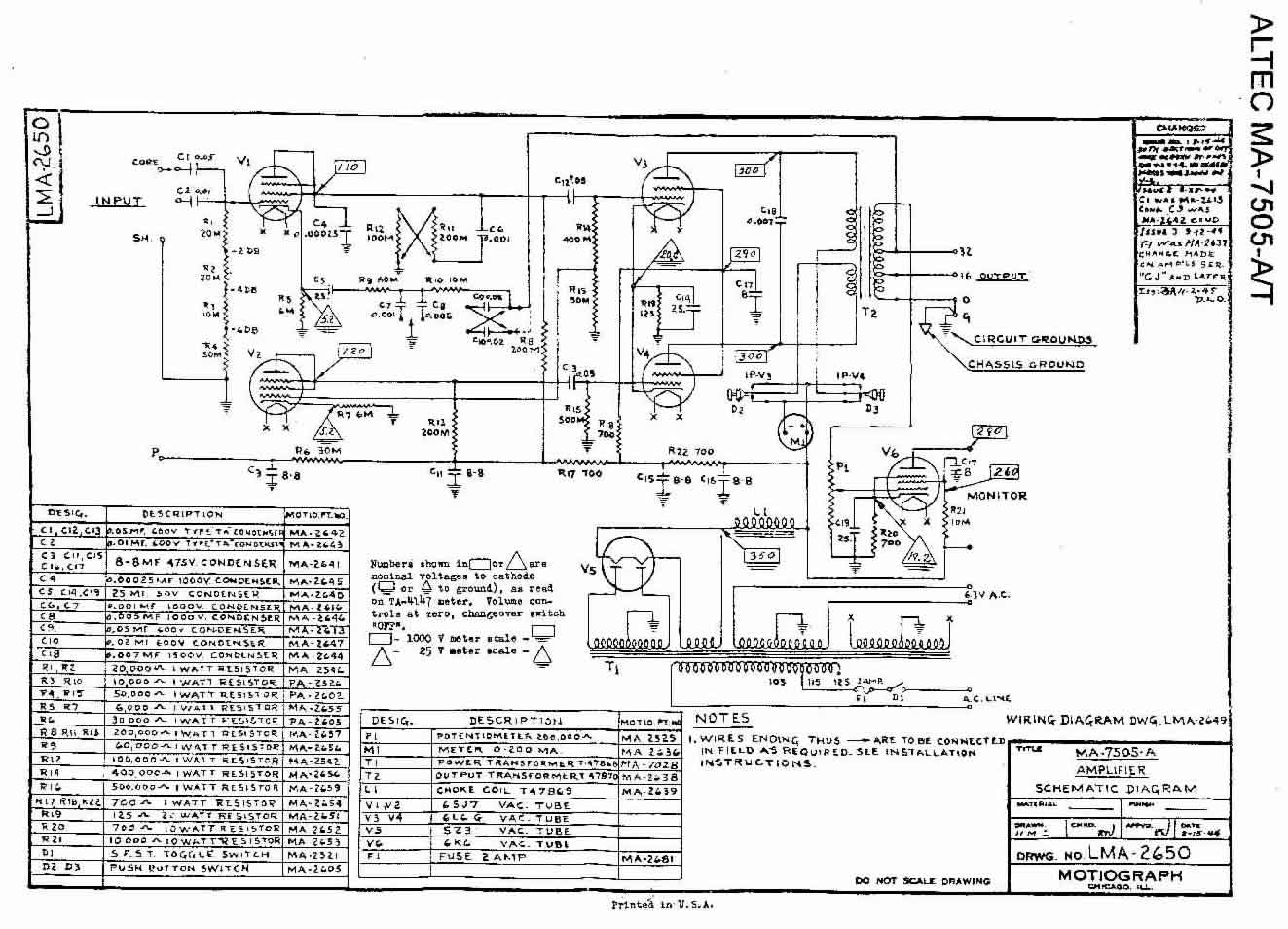 here is the wiring diagram for the altec 4722