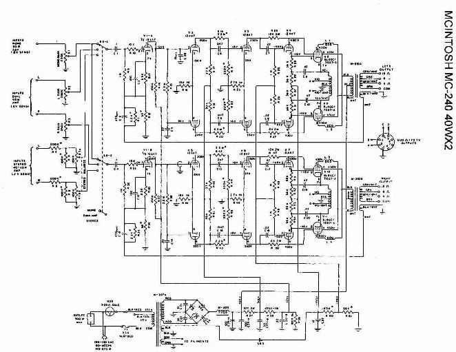 Mcintosh Mc 60 Schematic, Mcintosh, Get Free Image About
