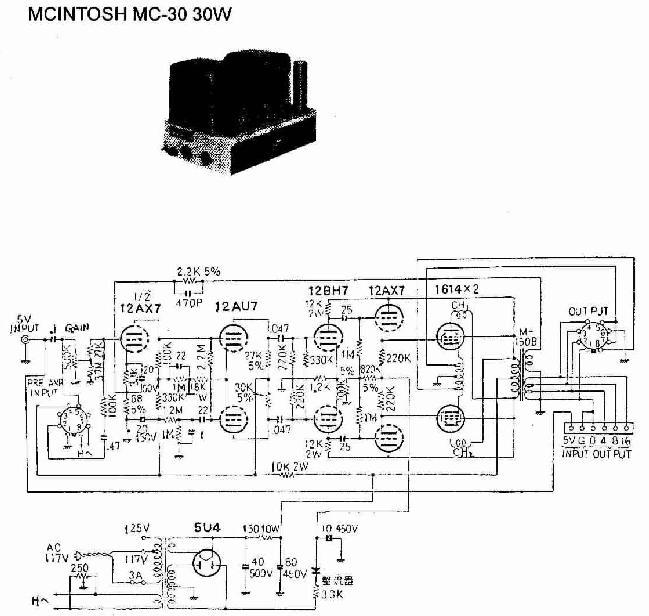 Wiring Diagram Output Transformer 4 8 16 Ohm