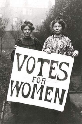 """Votes For Women, from a post on """"Feminist Law Professors"""""""