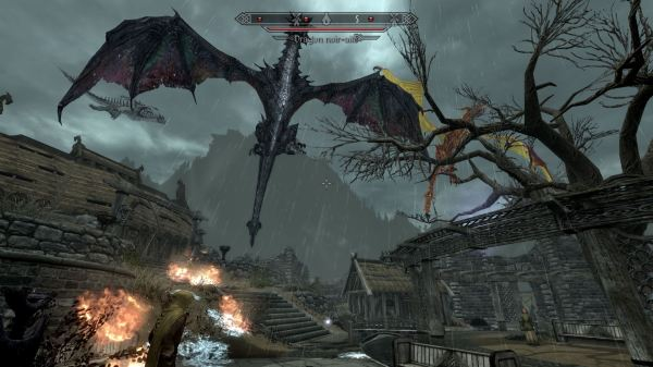 Skyrim Deadly Dragons Mod - Year of Clean Water