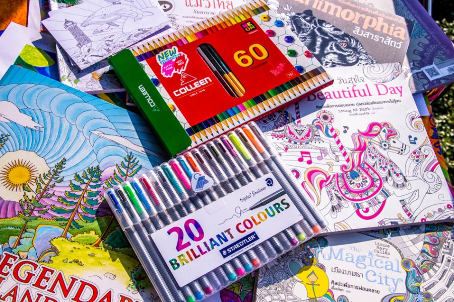 VIDEO The Weird And Wonderful History Of Adult Coloring