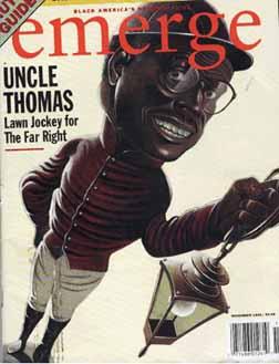 lawn jockey Clarence Thomas